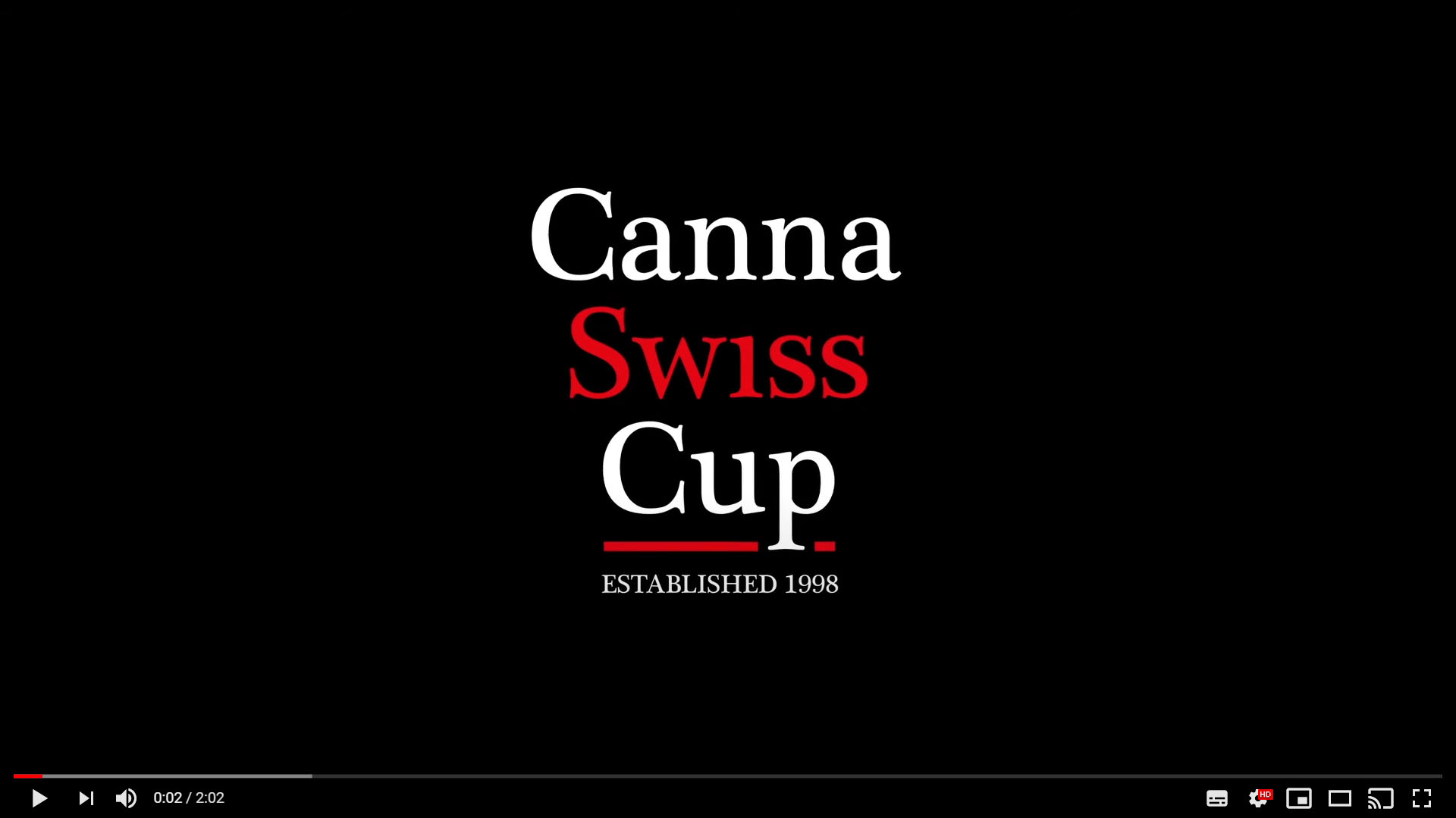 CannaSwissCup Video